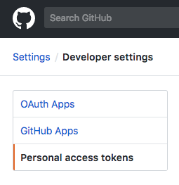 Github-personal-access-tokens